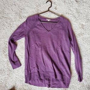 Gap Wool Blend V Neck Sweater